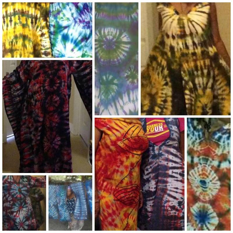 Tracy's Tye-Dye Prints