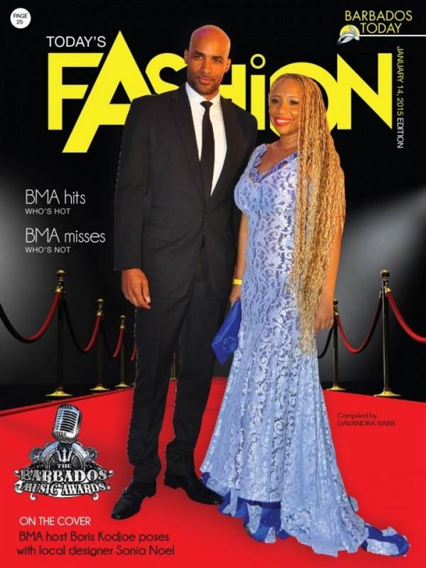 Designer Sonia Noel and Actor Boris Kodjoe