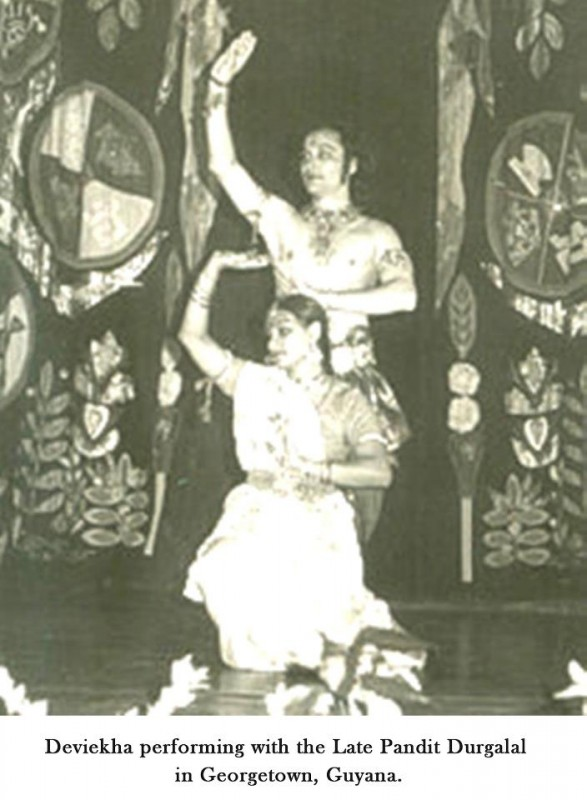 Deviekha-as-a-young-dancer-performs-with-the-late-Pandit-Durgalall-in-Guyana