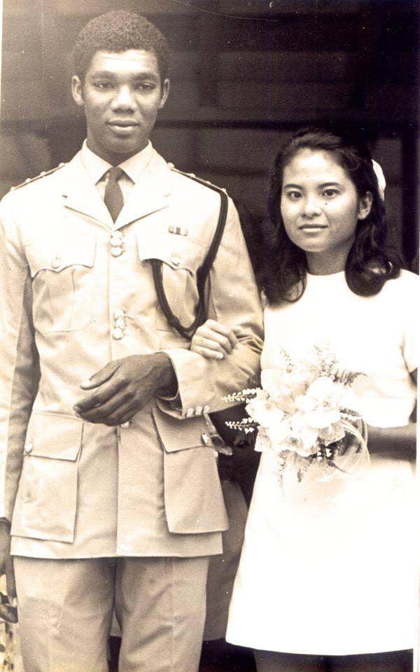 Wedding Photo of Mr. & Mrs. Granger