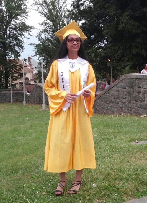 Bibi Sulaman graduated as valedictorian of Jamaica Gateway to the Sciences High School this past June 2015