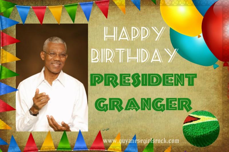 Happy Birthday President David A. Granger