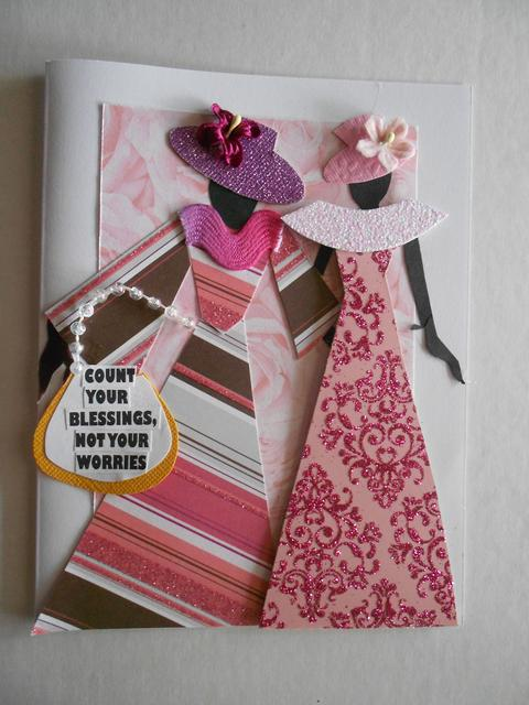 Count your Blessing card designed by Claire