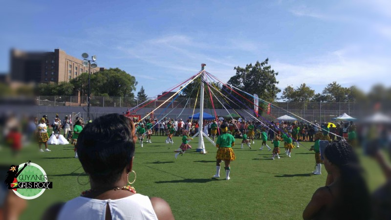 Maypole Plaiting in Brooklyn performed by dancers from the St. Albans Episcopal Church