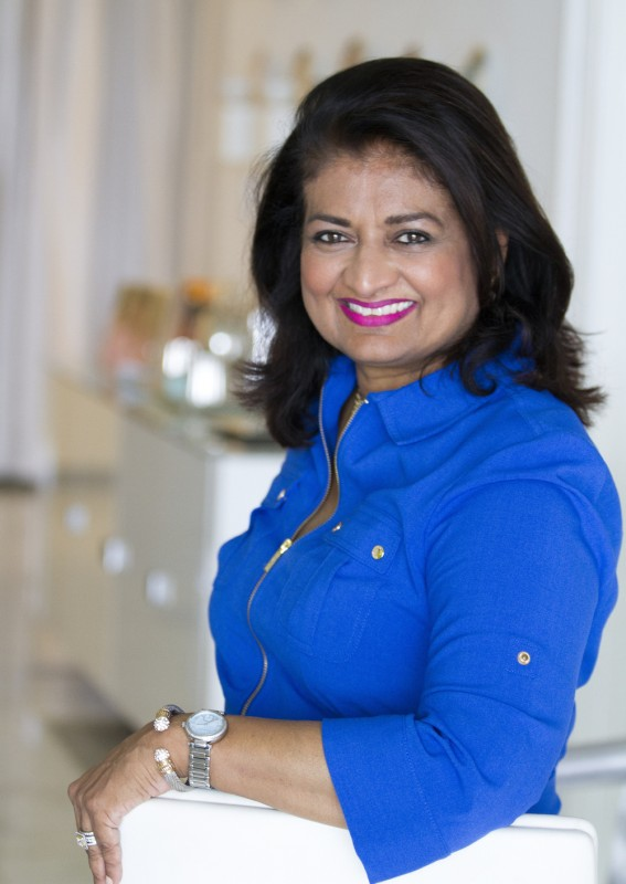 Founder of the Guyana Foundation, Mrs.Supriya Singh-Bodden