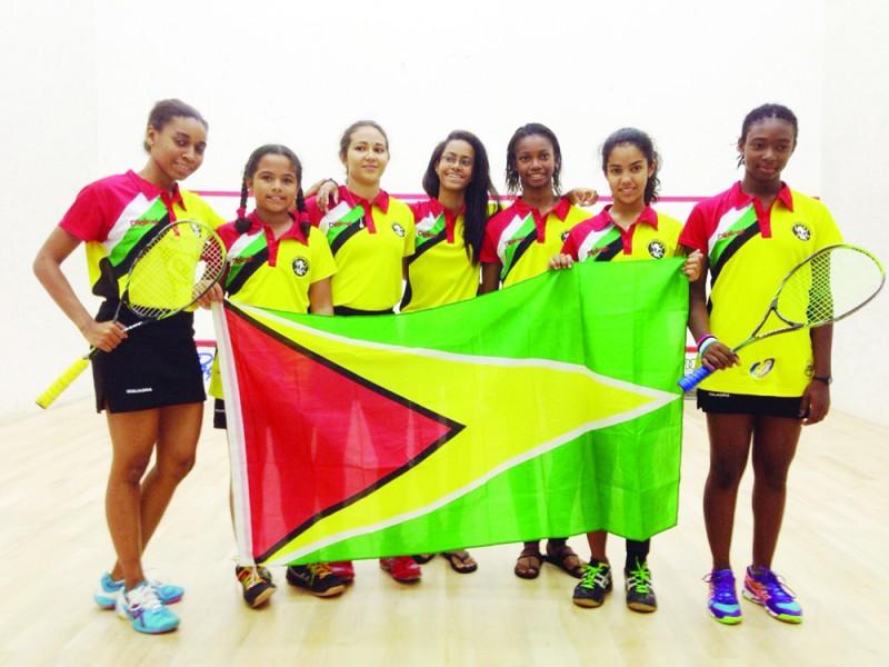 Guyana Girls Squash Champions - 11th Win