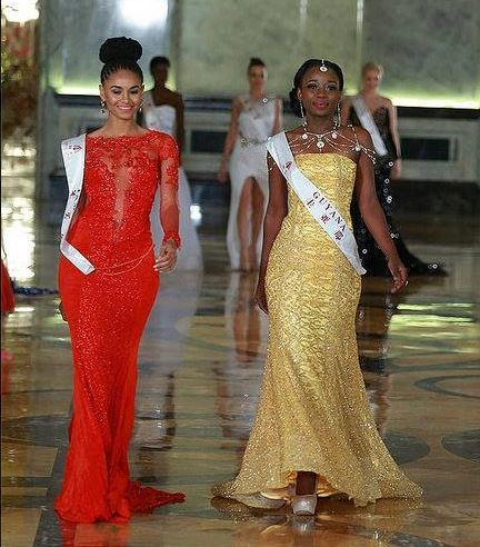 Roommates Miss Jamaica, and Miss Guyana 2015, both made it to the 10 Ten