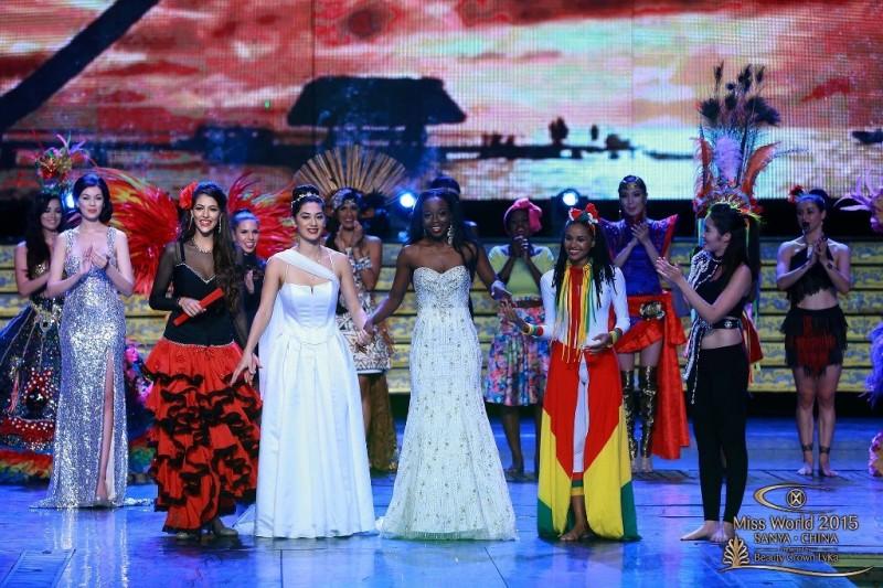 2015 Miss World Talent Winner, Lisa Punch