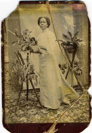 Amy's mother Caroline Barbour-James, in British Guiana - circa 1890s