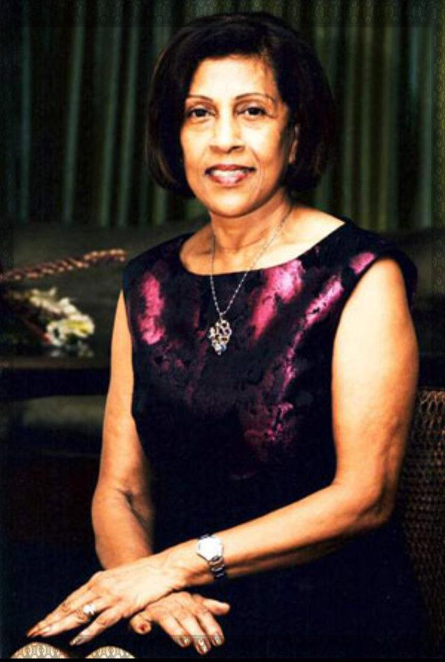 First Lady Doelatchmee Ramotar