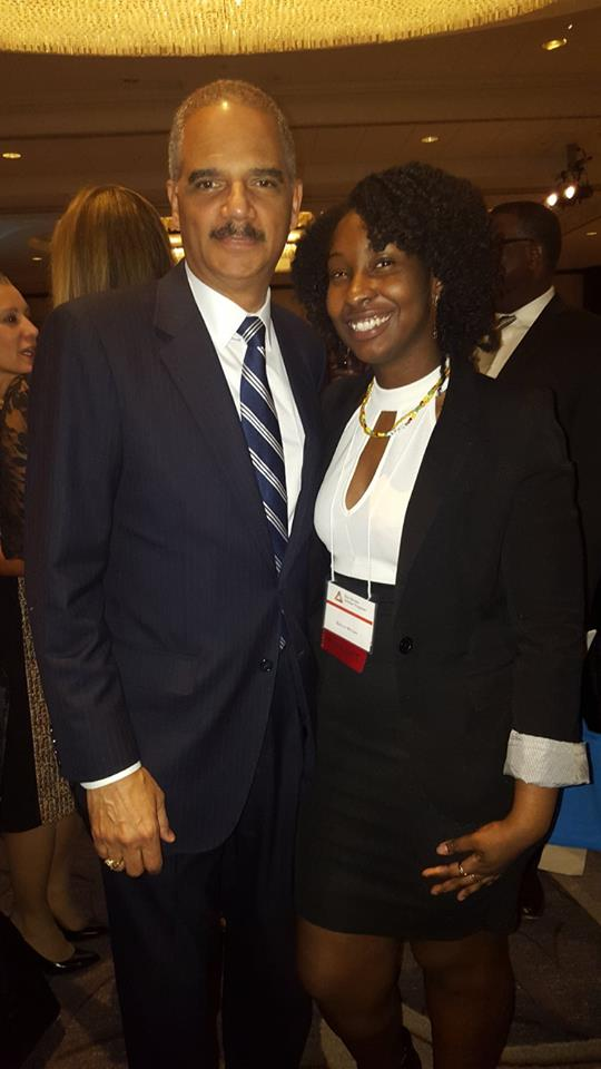 Kelly with Former Attorney General Eric Holder