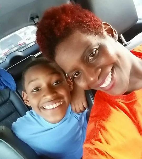 Dr. Alisha and son