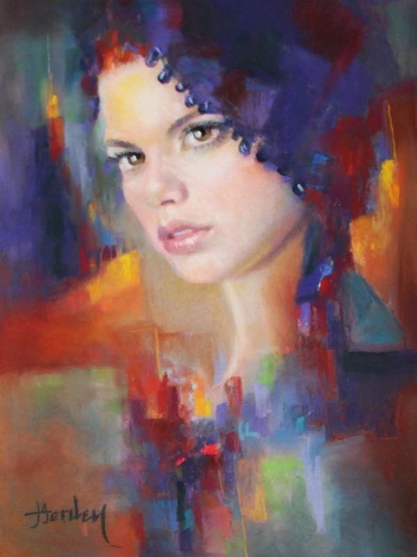 Portrait art by Denise Henley