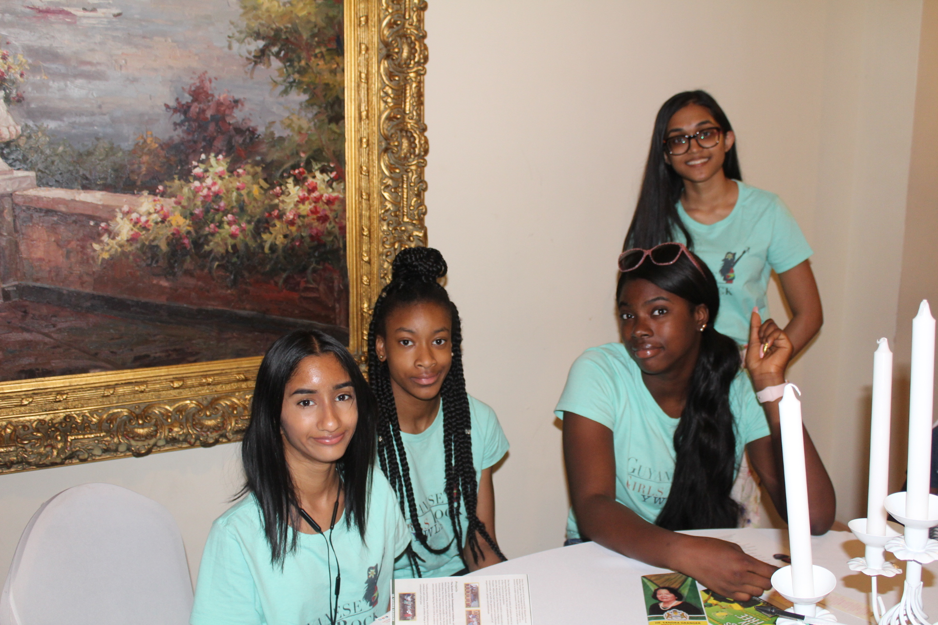 YWLA Students Meet the First Lady of Guyana - Guyanese ...